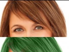 Hair Color Dye Pro - Recolor studio and Splash Effects Editor 1.0 Screenshot