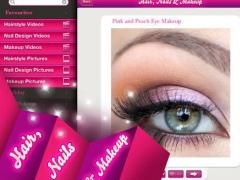 Hair, Nails and Makeup HD - Free 1.5 Screenshot