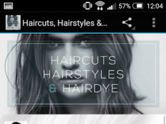 Haircuts, Hairstyles & Hairdye 1.0 Screenshot
