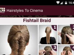 Hairstyles to the Cinema steps 1.0.0.2 Screenshot