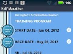 Hal Higdon's 1/2 Marathon - N1 1.0.21 Screenshot