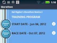 Hal Higdon's Marathon Novice 2 1.0.21 Screenshot