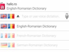 hallo.ro Dictionary 1.4 Screenshot