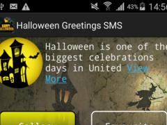 Halloween Greetings SMS 1.0 Screenshot
