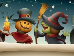 Halloween Holidays Invitation And Greetings Cards 1.0 Screenshot
