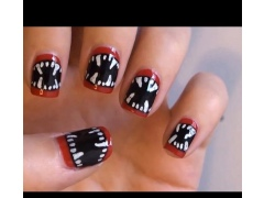 halloween makeup nails 1.1 Screenshot