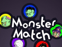Halloween Monster Match: a Spooky Game of Color Connecting 1.0.1 Screenshot