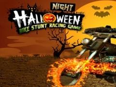 Halloween Night Bike Stunt Racing Game 1.0 Screenshot