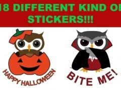Halloween Owls Stickers 1.0 Screenshot
