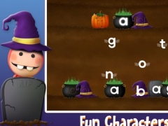 Halloween Phonics & Spelling: Learn ABC Alphabet Names & Shape Playtime for Kids 1.4.0 Screenshot