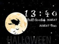 Halloweenparty GO Locker Theme 1.00 Screenshot