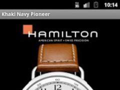 Hamilton Khaki Navy Pioneer 1.0 Screenshot