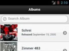 Handy Lyrics - Tokio Hotel 1.0 Screenshot