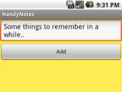 Handy Notes 1.4 Screenshot
