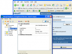 Handy Password manager USB 4.6 Screenshot