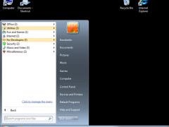 Handy Start Menu 1.80 Screenshot