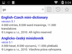 HandyLex 4 Czech 2.4.1 Screenshot