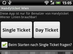 Handyticket Wien 1.1 Screenshot