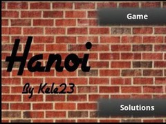 Hanoi Game & Solution 1.11 Screenshot