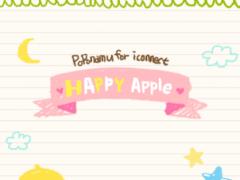 Happy Apple go launcher theme 1.2 Screenshot