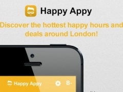 Happy Appy - Happy Hour Deals 1.0 Screenshot