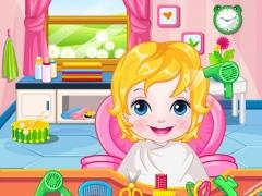 Happy Baby Hairdresser Game HD 1.0.8 Screenshot