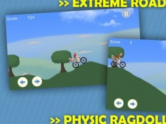 Happy Bike Climb Hill Win Extreme Road 2 1.0 Screenshot