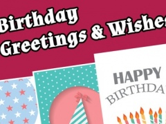 Happy Birthday Cards & Greetings Free 1.0 Screenshot