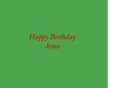 Happy Birthday Jesus Lyrics 1.0 Screenshot