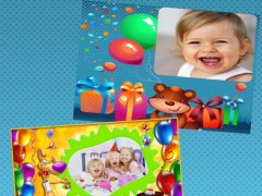 Happy birthday photo frames - edit and create cards and postcards 1.0 Screenshot