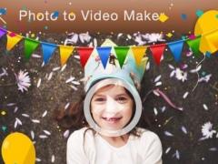 Happy Birthday Video Editor 13 Screenshot