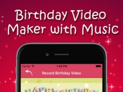 Happy Birthday Video Maker-congratulates your friends 1.0 Screenshot