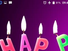 Happy BirthdayHD LiveWallpaper 1.0 Screenshot