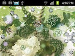 Happy Clover LiveWallpapr 1.2 Screenshot