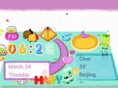 Happy Doodling Hola Theme 3.0 Screenshot