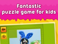 Happy Easter: Funny Animals - puzzle game for little girls, little boys and preschool kids - Free 1.1 Screenshot