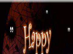Happy Halloween wallpaper &msg 2.0 Screenshot