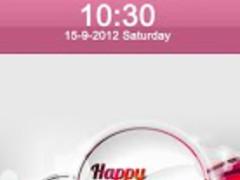 Happy New Year Lock Screen 1.1 Screenshot