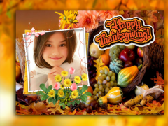 Happy Thanksgiving Photo Frame 1.1 Screenshot