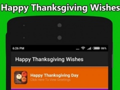 Happy Thanksgiving Wishes 2016 1.4 Screenshot