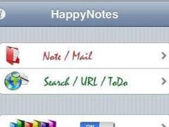 HappyNotes 1.00 Screenshot