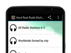 Hard Rock Radio Stations 1.0 Screenshot