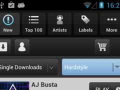 Hardstyle.com 0.9 Screenshot