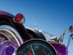 Harley Davidson Bike Clock LWP 1.6 Screenshot
