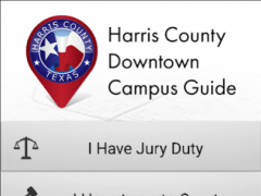 Harris County Campus Guide 1.0 Screenshot