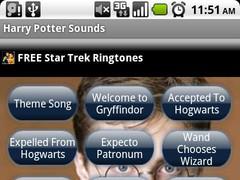 Harry Potter Sounds 1.0 Screenshot