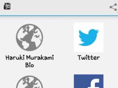 Haruki Murakami 1.0 Screenshot