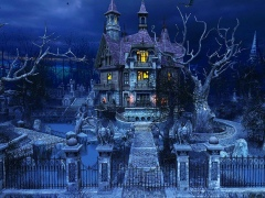 Haunted House 3D Screensaver 2.0 Screenshot