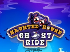 Haunted House Ghost Ride - Christmas Ride Party in Graveyard 1.0.1 Screenshot