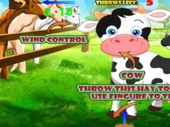 Hay Toss Pro: Cow Feed Farm 1.0 Screenshot